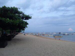 sore Pantai Sanur