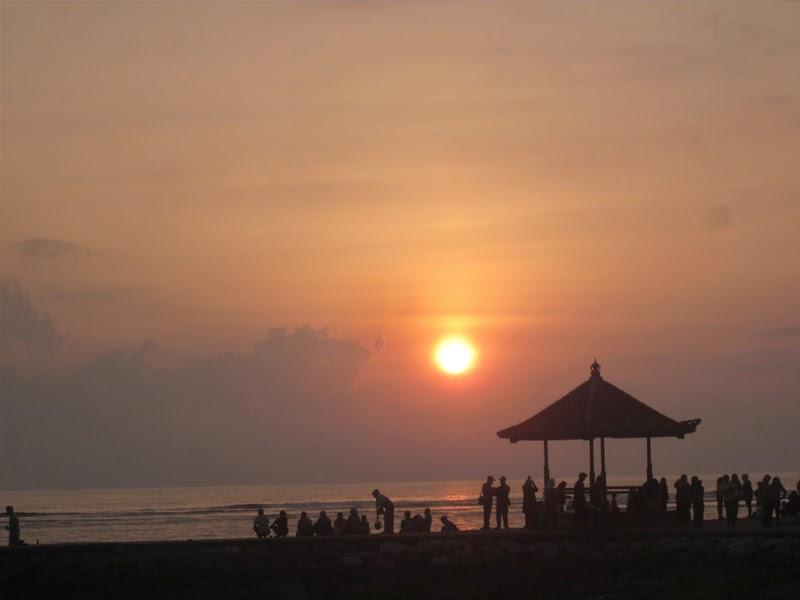 matahari terbit sanur Bali