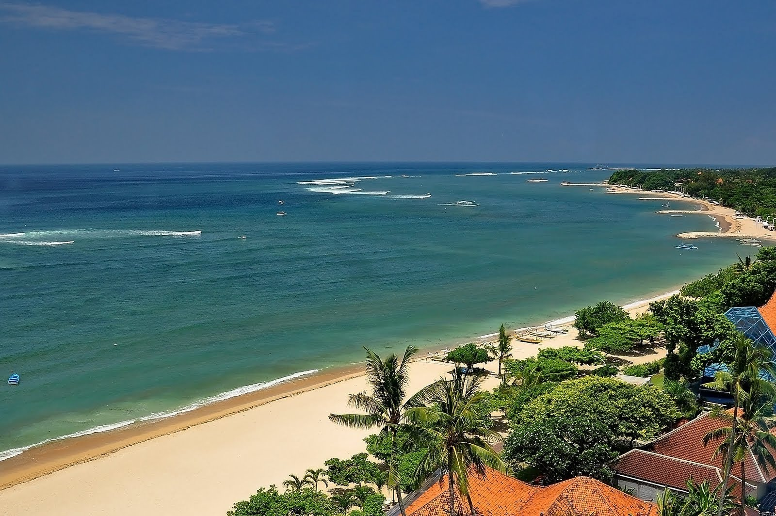 Pantai Nusa terkini