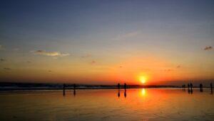 Sunset di Kuta Bali