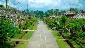 Objek wisata Penglipuran Bali