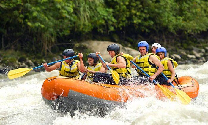 Rafting di Sungai Telaga Waja Bali