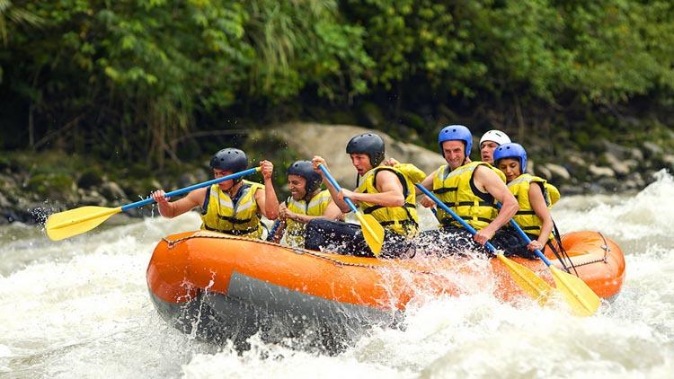 Rafting di Sungai Ayung dan Telaga Waja