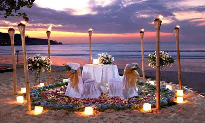 5 Tempat Dinner Romantis di Bali Untuk Anda dan Pasangan