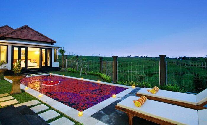 Villa Private Pool di Bali untuk honeymoon harga di bawah 1 juta