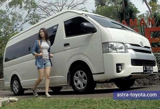 Tampilan Gagah dan Mewah Toyota Hiace
