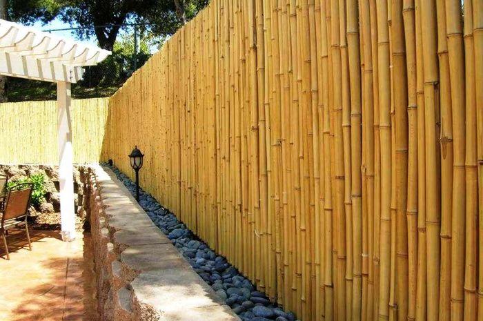 Jasa Pagar Bambu Badung