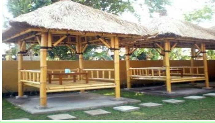 Tukang Gazebo Bambu daerah Denpasar & Badung